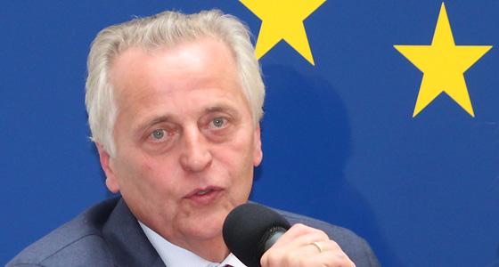 BM Rudolf Hundstorfer im Haus der EU