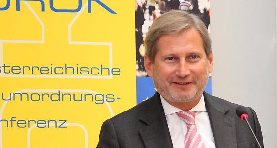 Johannes Hahn - EU-Kommissar