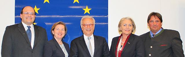 Gruppenbild im Haus der EU - Wien