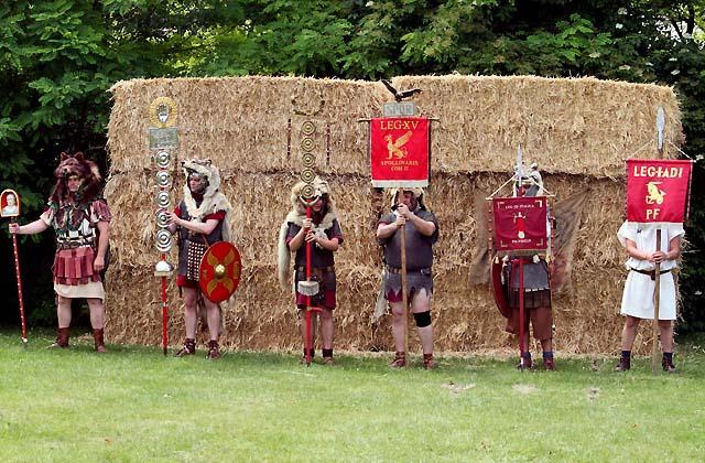 Römerfestival: Kampf der Cäsaren