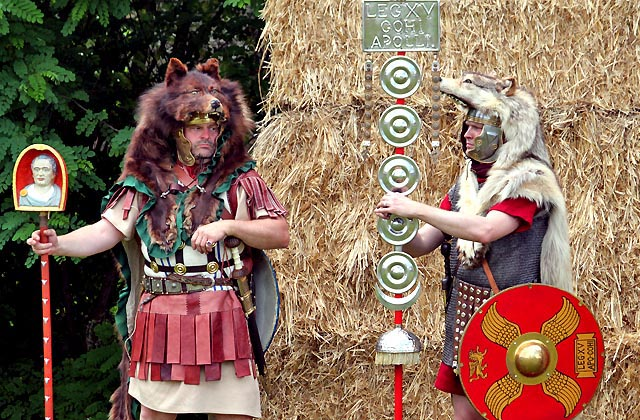 Römerfestival: Barbaren, Legionäre, Krieger und Feldherren