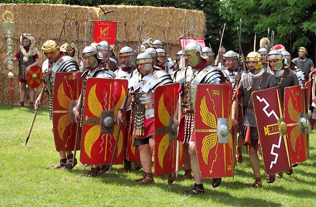 Römerfestival 2017 - Kampfeinheit