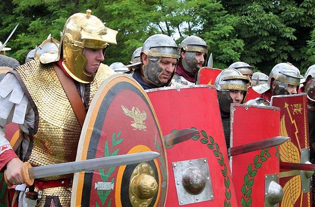 Römerfestival - Römische Soldaten