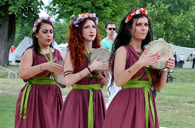 Römische Tänzerinnen ... aus Rom