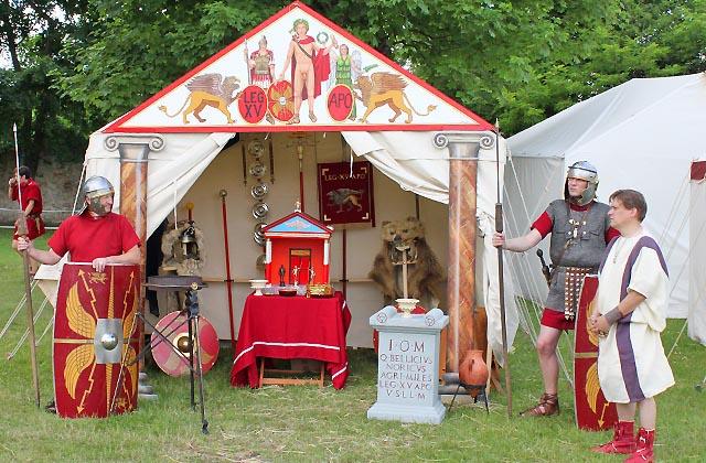 Römerlager: Das Heiligtum - hier gibt es den Sold!