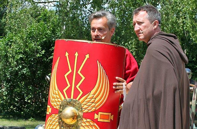 """""""Der Adler Roms"""": Die Schilde der Soldaten ..."""