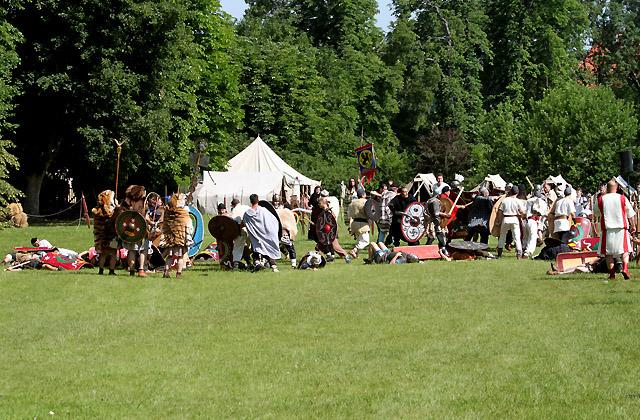 Legionäre im Gefecht - Carnuntum, Römerfestival