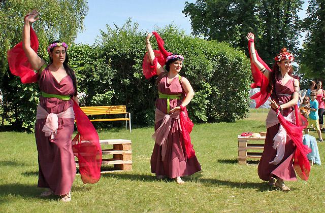Römerfestival - Römische Tänzerinnen