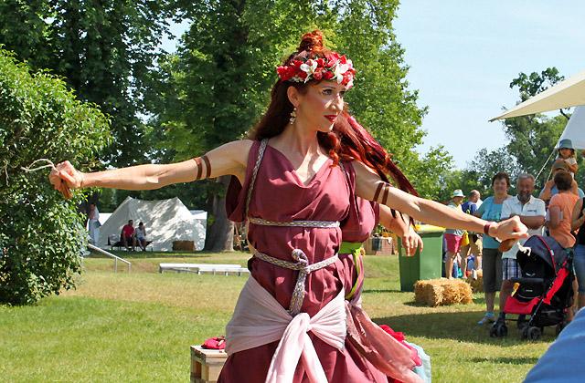 Carnuntum, Römerfestival - Römische Tänzerin