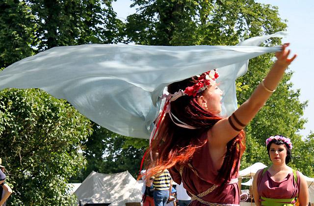 Römische Tänzerin mit Tuch - Römerfestival