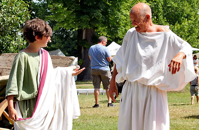 Theateraufführung beim Römerfestival 2018, Carnuntum