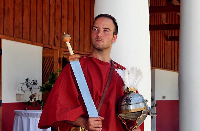 Römerfestival - Junger Römer. Carnuntum