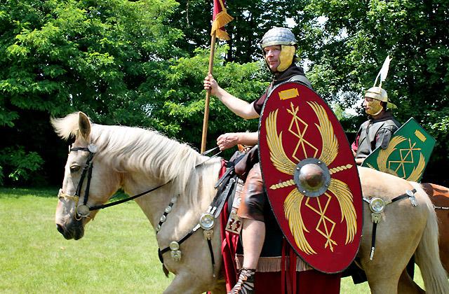 Römischer Reiter - Römerfestival