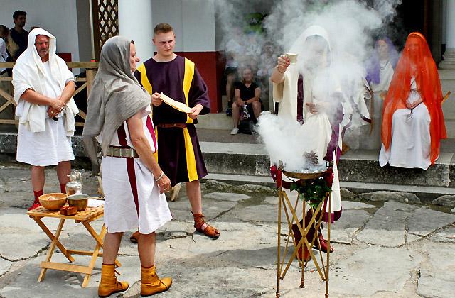 Römische Hochzeit - Römerfestival