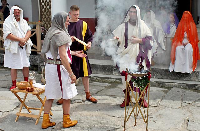 Römische Hochzeit - Römerfestival Carnuntum
