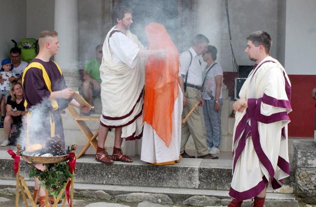Römische Hochzeit - Ritual - Carnuntum