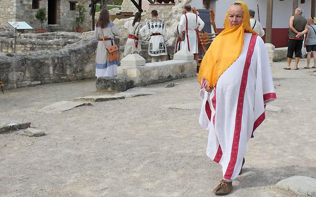 Spaziergang im römischen Stadtviertel