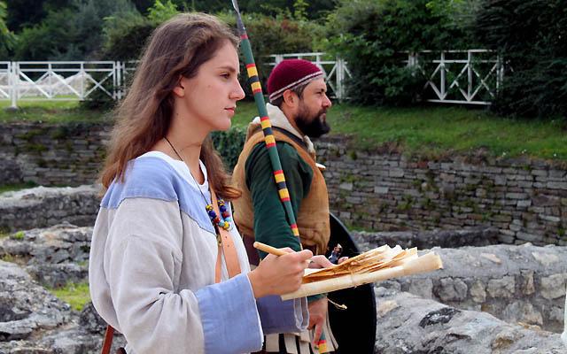 Archäologen in Carnuntum