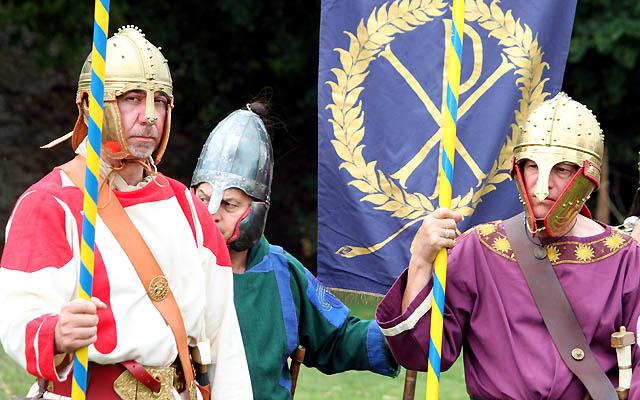 Legionäre unter sich: Das römische Heer hatte einen guten Ruf!
