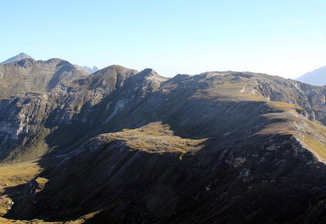 Glocknermassiv: Panorama von der Edelweiss-Spitze