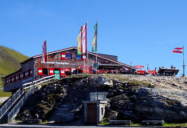 Restaurant Fuschertörl an der Grossglockner Hochalpenstrasse