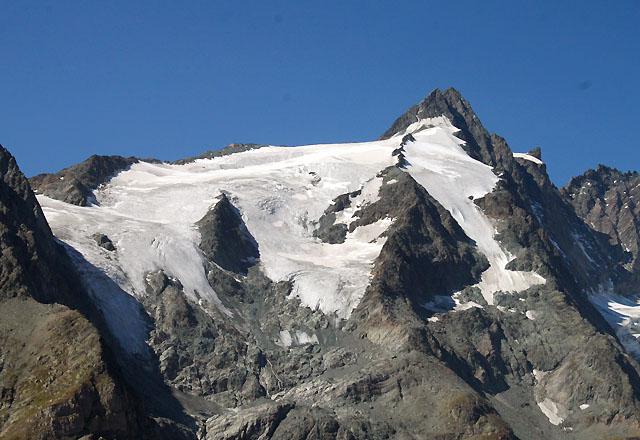 Grossglockner - von der Kaiser-Franz-Josefs-Höhe gesehen
