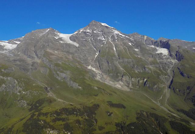 Grossglockner Hochalpenstrasse - Glocknermassiv - Grosses Wiesbachhorn