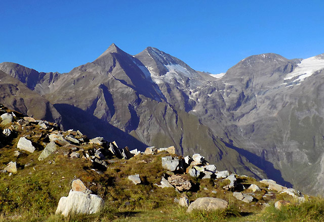 Grossglockner Hochalpenstrasse - Bergpanorama