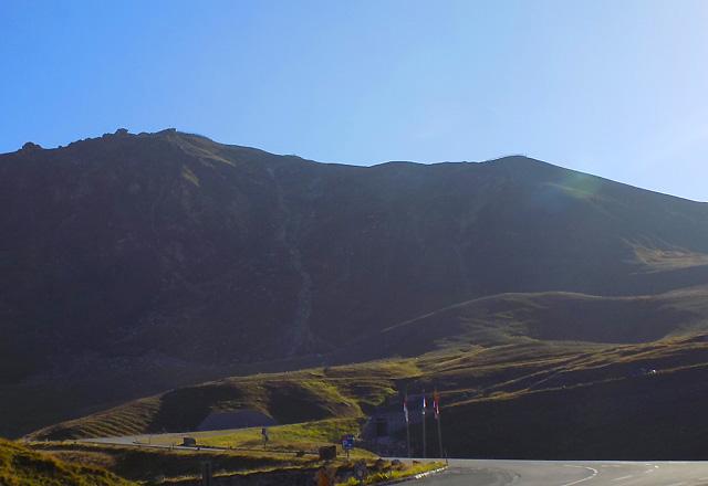 Grossglockner Hochalpenstrasse - Panoramastrasse mit 36 Kehren