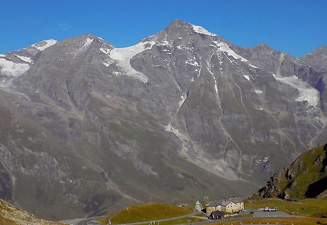 Grossglockner Hochalpenstrasse: Grosses Wiesbachhorn - Glocknermassiv