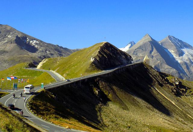 Grossglockner Hochalpenstrasse - Ausflugsziel Fuscher Törl