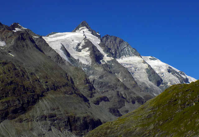 Grossglockner Hochalpenstrasse - Glocknermassiv im Nationalpark Hohe Tauern
