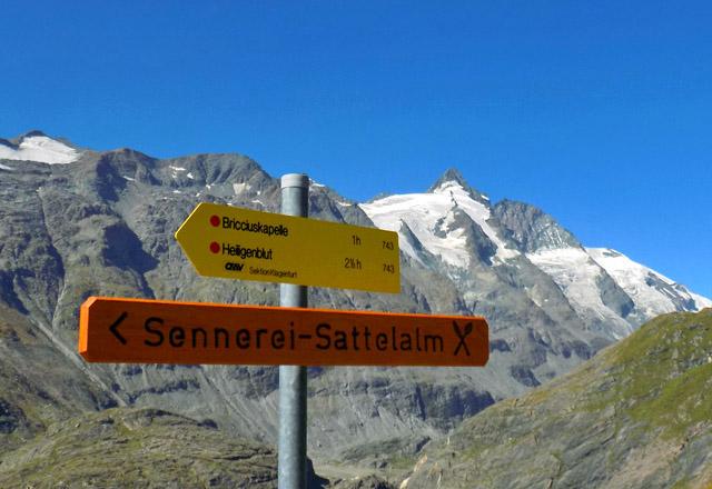 Grossglockner Hochalpenstrasse - Wandern am Glocknermassiv