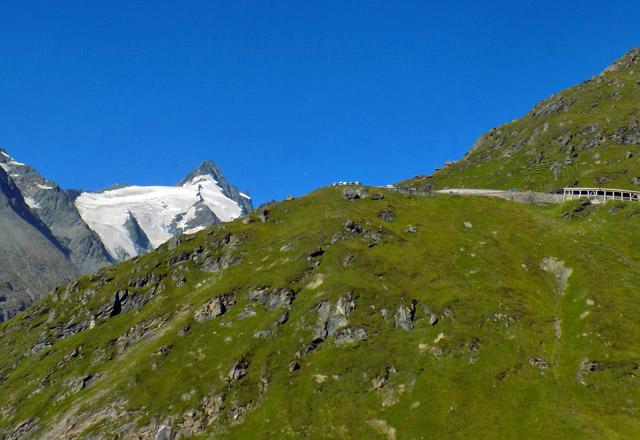 Grossglockner Hochalpenstrasse: Am Weg zur Kaiser-Franz-Josefs-Höhe