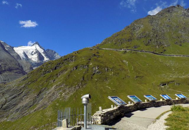 Glocknerhaus: Ausblick auf Grossglockner