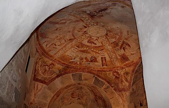 Schloss Ottenstein - Fresken in der Burgkapelle