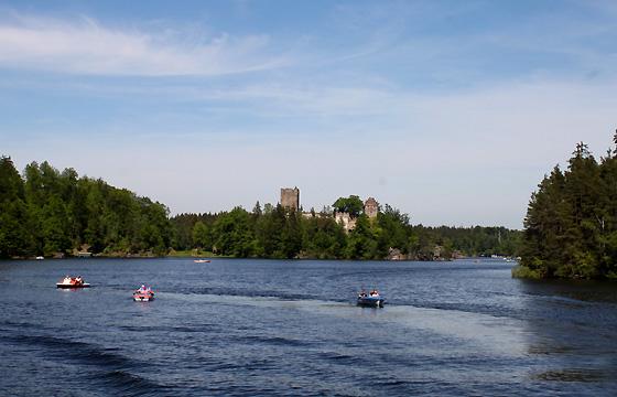 Kamptalstausee - Revier für Wassersportler. Trinkwasserqualität!