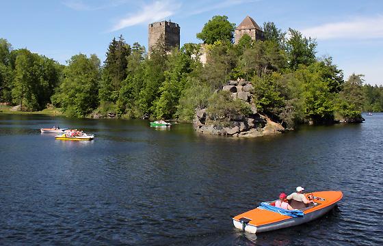 Freizeitrevier Kamptal - E-Boote, Tretboote: Sanfter Tourismus