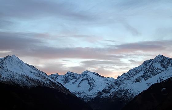 Nationalpark Hohe Tauern / Blick vom Pass Thurn gegen Süden