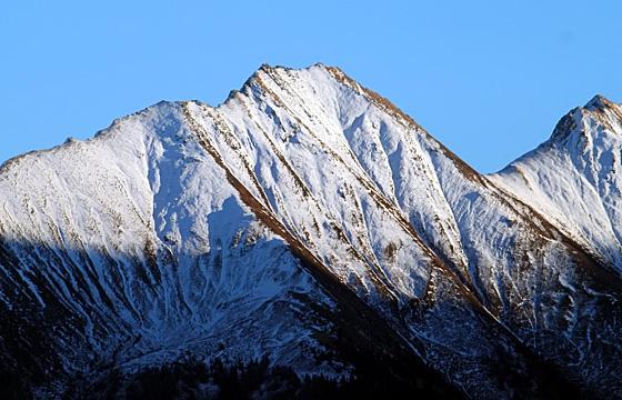Nationalpark Hohe Tauern vom Pass Thurn aus gesehen