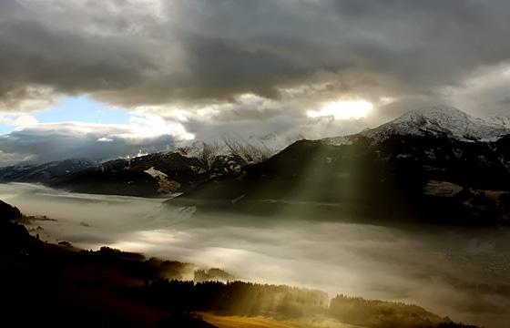 Pinzgau / Nationalpark Hohe Tauern mit Wolkenstimmung