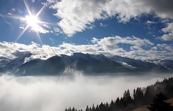 Pinzgau: Nationalpark Hohe Tauern nach Sonnenaufgang