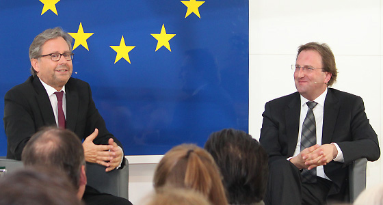 Alexander Wrabetz und Benedikt Weingartner in Dialog : EUROPA