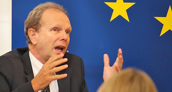 Raimund Löw im Haus der Europäischen Union