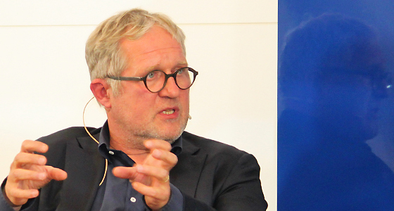 Harald Krassnitzer im Haus der Europäischen Union / Wien