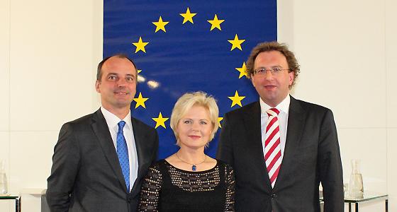 Pfeifer - Raimondi - Weingartner im Haus der EU - Dialog:EUROPA