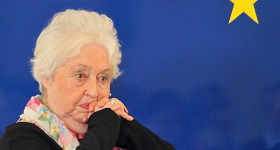Barbara Coudenhove-Kalergi im Haus der EU - Nahaufnahme