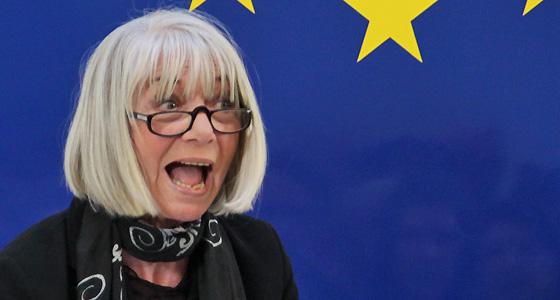 Erika Pluhar im Haus der Europäischen Union, bei Dialog : EUROPA