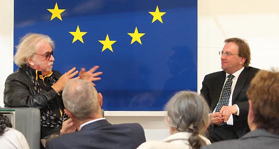 Bernhard Paul und Benedikt Weingartner in Europa : DIALOG
