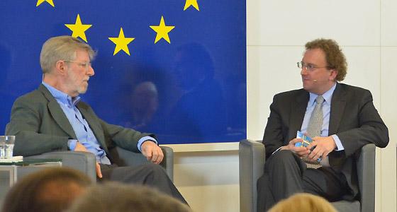 Oscar Bronner bei Benedikt Weingartner in Europa : DIALOG
